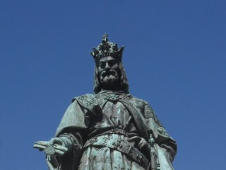 Praha, Karel IV u Karlova mostu