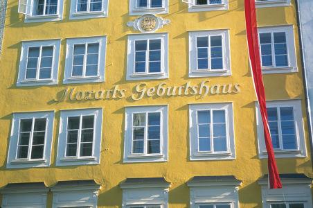 rodný dům W.A.Mozarta